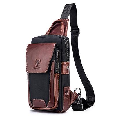 Genuine Leather Casual Fashion Chest Bag