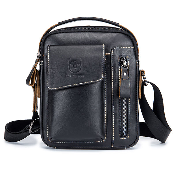 Genuine Leather Multifunctional Shoulder Bag