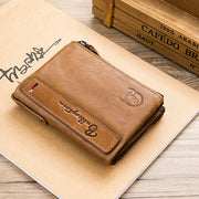 Genuine Leather Multifunctional Wallet