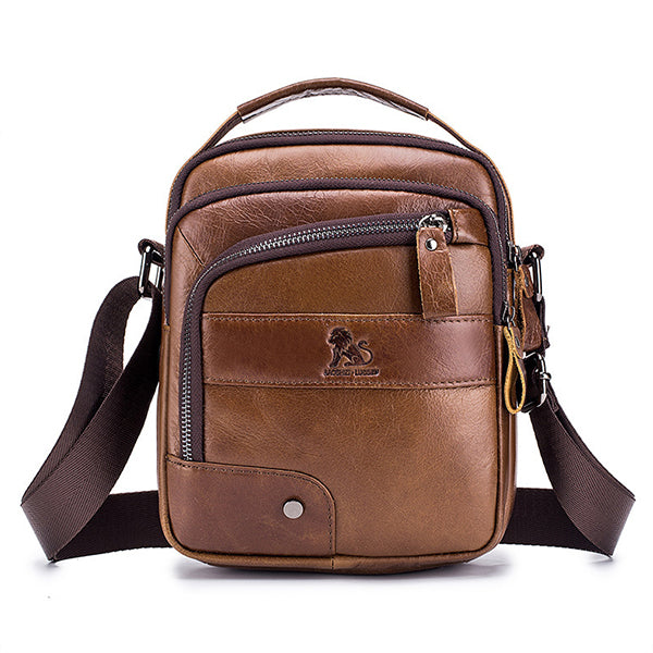 Genuine Leather Vintage Crossbody Bag