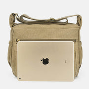 Large Capacity Canvas Casual Shoulder Crossbody Bag