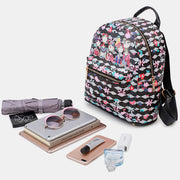 Large Capacity Forest Series Print Backpack