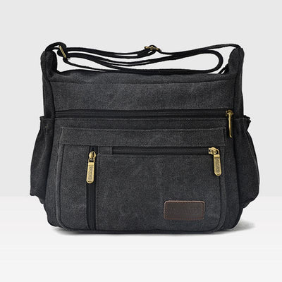 Large Capacity Wear-Resistant Multifunctional Crossbody Bag