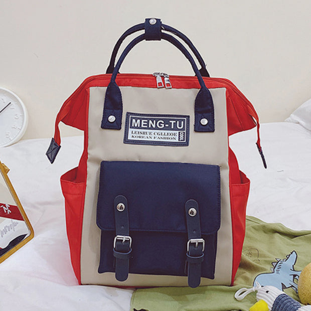 Large Capacity Multifunction Lightweight Vintage Backpack