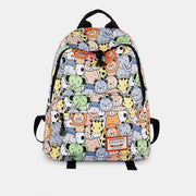 Large Capacity Waterproof Cute Pattern Printed Backpack