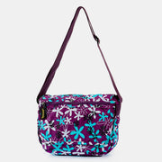 Lightweight Multicolor Floral Printed Crossbody Bag