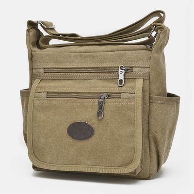 Multi-Pocket Outdoor Sports Shoulder Crossbody Bag