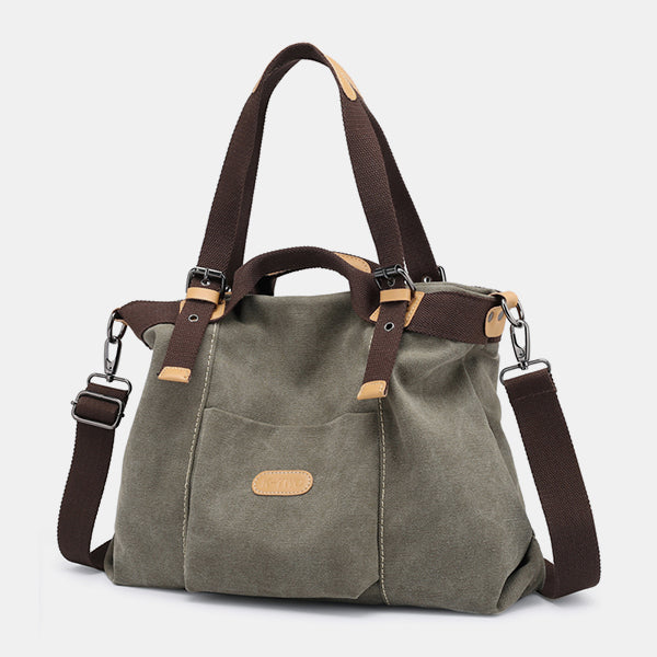 Simply Fashion  Large Capacity Crossbody Handbag