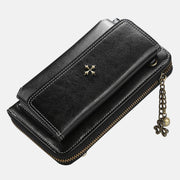 Multi-Compartment Large Capacity Vintage Crossbody Phone Purse