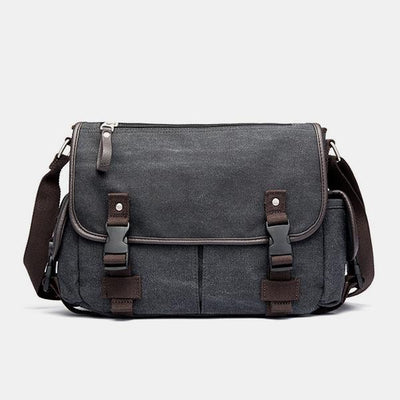 Large Capacity Lightweight Vintage Messenger Bag