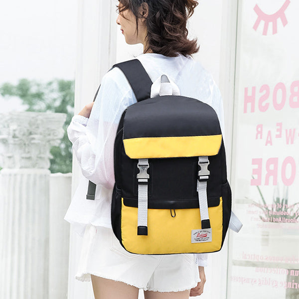 Unisex Large Capacity School Backpack