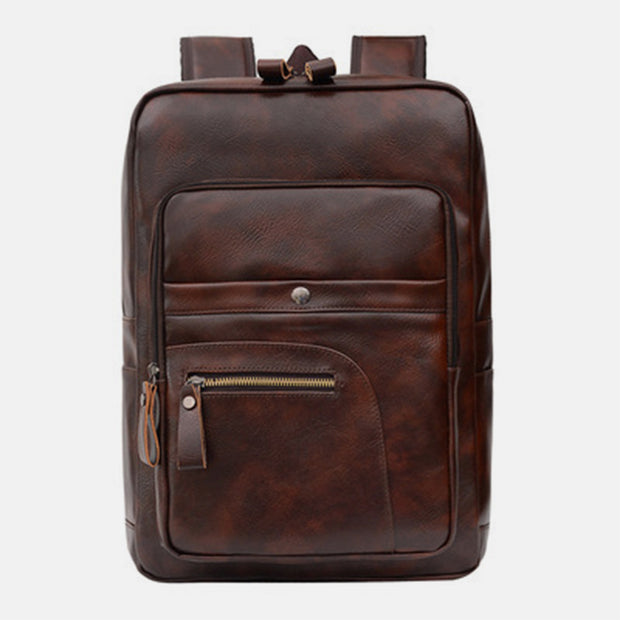 Unisex Multi-Pocket Travel Laptop Backpack