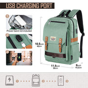 USB Charging Large Capacity School Backpack