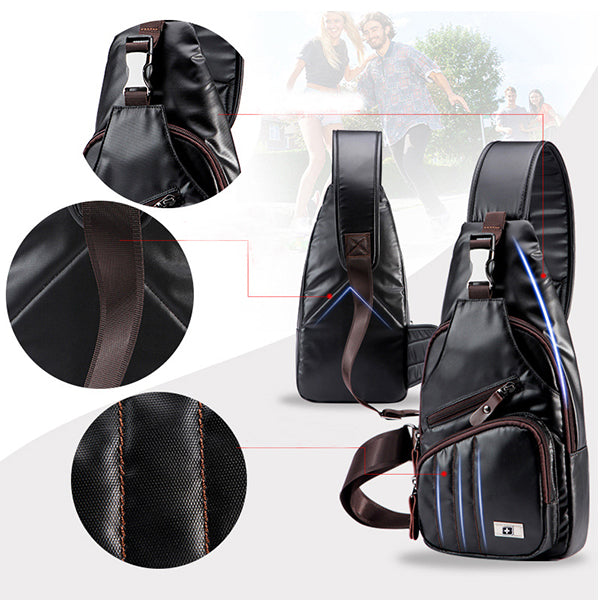 Unisex Waterproof Sport Fahion Sling Bag