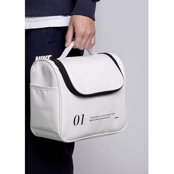Unisex's Letter Printing Travel Storage Bag