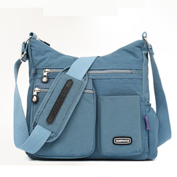Women's Waterproof Solid Crossbody Bag