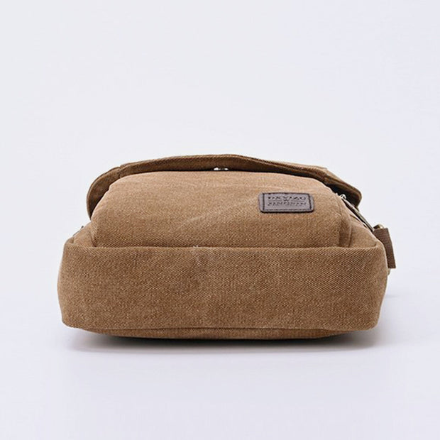 Canvas Business Messenger Bag