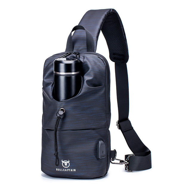 Waterproof Large Capacity Sports Crossbody Bag Sling Bag