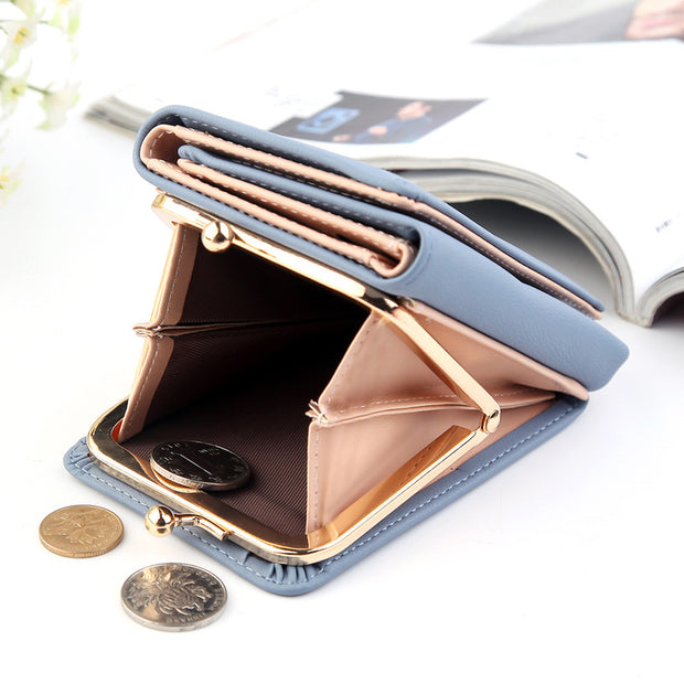 Lightly Design Multifunctional Elegant Trifold Wallet