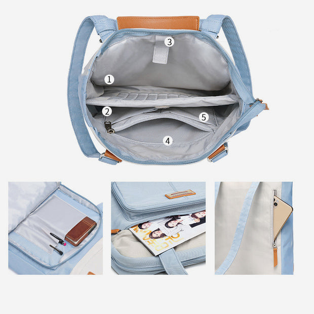Waterproof Lagre Capacity Multifunctional Laptop Backpack