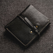 Multi-Card Vintage Genuine Leather Wallet