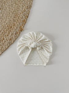 Turban Cream Flower