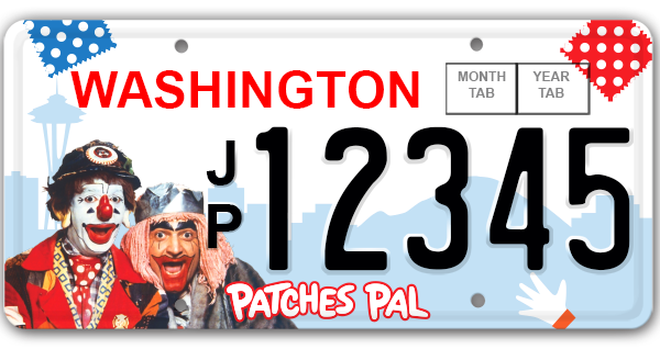 J.P. Patches License Plater