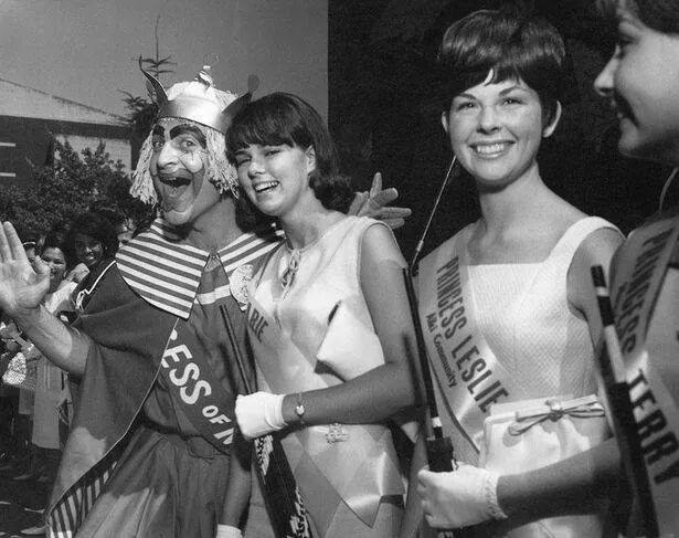 Gertrude and the SeaFair Princesses