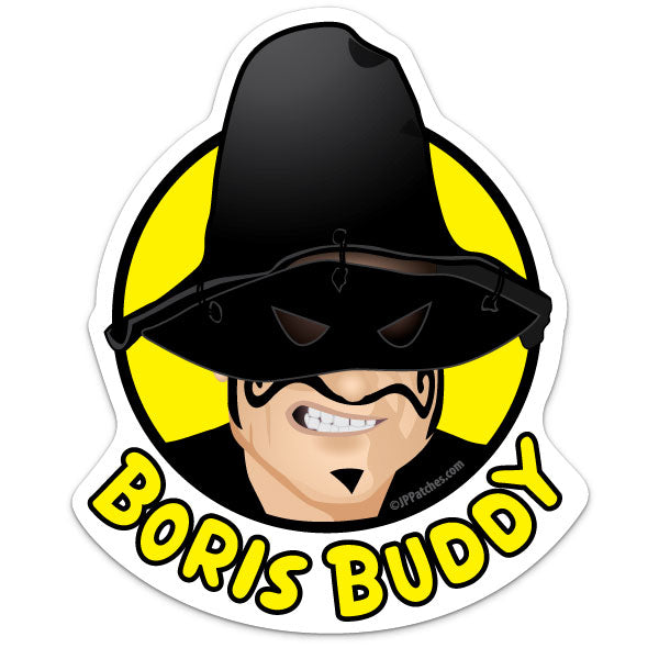 Boris Buddy Big Sticker