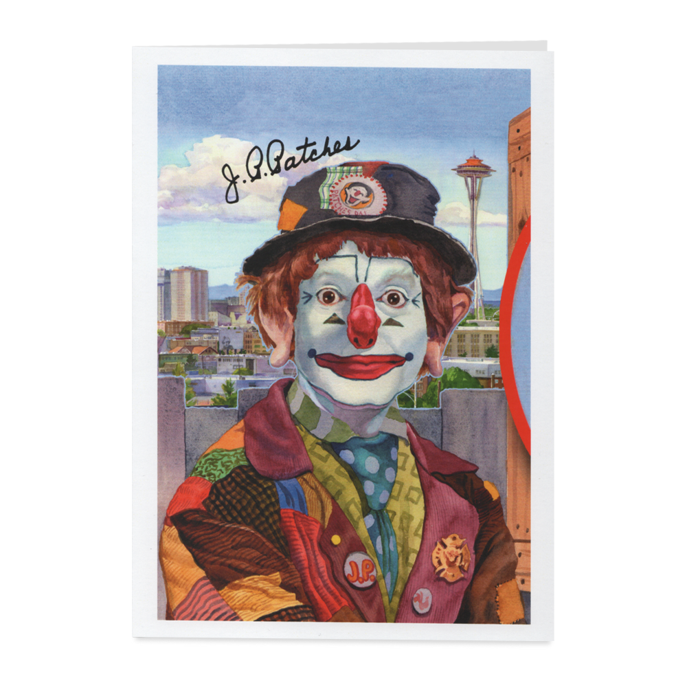 J.P. PATCHES GREETING CARD