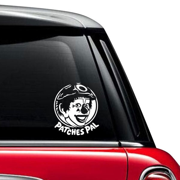 Patches Pals Vinyl Decal 3-Pack