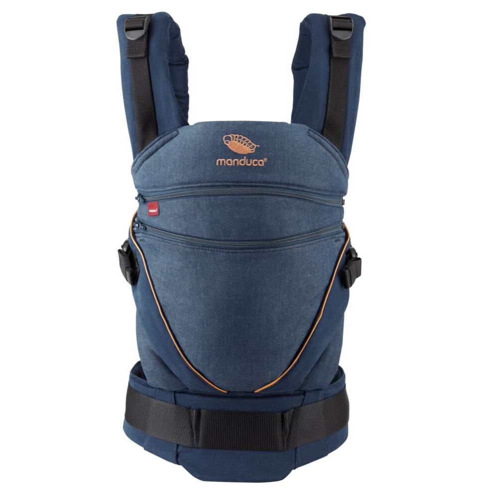 Mochila portabebé Manduca XT Cotton Denim-blue