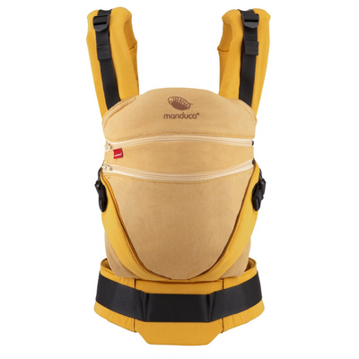 Mochila portabebé Manduca XT Cotton Denim-Gold