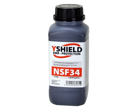 Shielding Paint NSF34 1 Litre for low (power) frequency electric fields