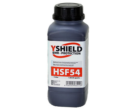 Shielding Paint HSF54 1 Litre for high frequency/wireless radiation