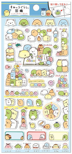 Sumikko Gurashi Stickers Blue Sheet