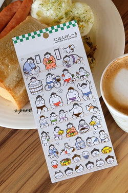 Sumo Wrestler Stickers