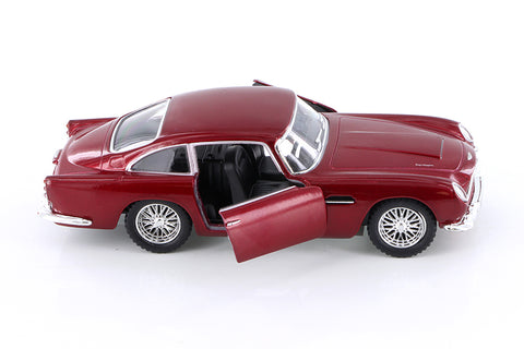 1963 Aston Martin DB5 Hardtop 1/38th Scale Diecast Car with Pullback Action