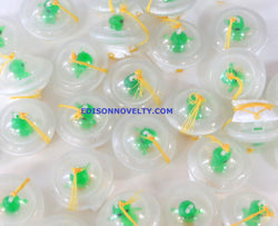 Glow in the Dark Alien Spaceship Paratroopers 2 Dozen (24)