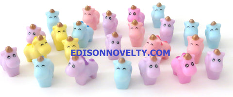 Bunch of Baby Unicorns Assorted Pastel Colors (24)
