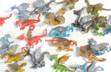 Vinyl Dragon Figures (20)
