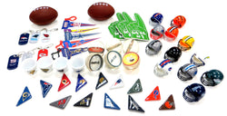 50 Piece Football Themed Party Favors Mix