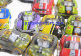 Plastic Pullback Racers 1.75 Inches Long