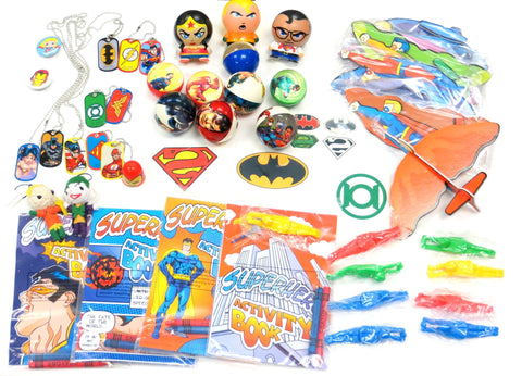 50 Piece Super Hero Party Favor Mix