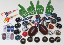 Football Party Favors Mix 50 Pieces