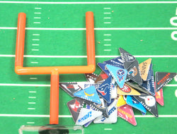Tabletop Football Flicker Game (Includes 2 Goal Post and 34 Flickers)