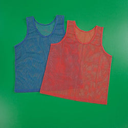 12 Nylon Mesh Scrimmage Jersey for Youth Sports