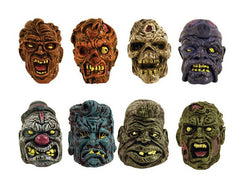 One Dozen Zombie Heads (pencil toppers)