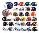 Complete Set of 32 NFL Mini Helmet Pencil Toppers