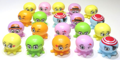 Rubber Octopus Pencil Toppers (20)